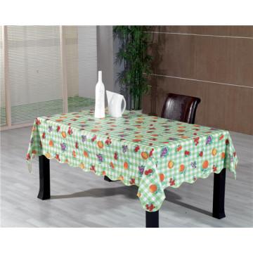 LFGB Nonwoven Backing PVC Printed Tablecloth Oko-Tex 100 China Factory