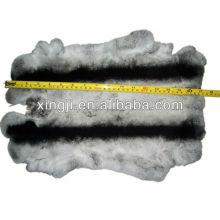 Gefärbte Chinchila Farbe Top-Qualität Rex Kaninchenhaut