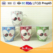 325 ML Drum-Shaped New Bone China Lovers Mug for BS131203G