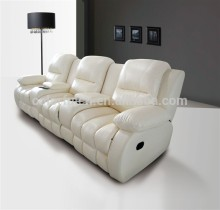 Recliner chesterfield sofa for home,solan,hotel leather sofa/recliner theater chair/ recline sectional sofa set LS601A