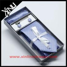 Pocket Square Silk Tie Necktie Storage Box