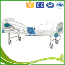 ce and iso approved medical one function crank bed adjustable clinic bed