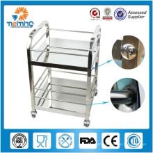 2 shelf wholesale restaurant food service trolley/dinning car