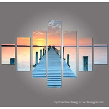 sunset images wall decorative, group art