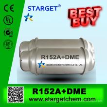 Gas refrigerante R152a + DME para la venta utilizado para XPS, PU