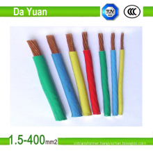 Thw/Tw AWG Flexible Electrical Cable for 600V