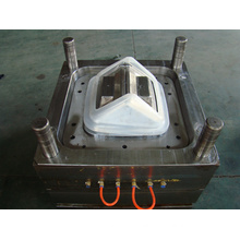 Plastic Injection Rubbish Bin Cover Mould