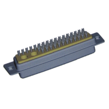 Coassiale D-Sub Connector 43W2 Female Solder Cup