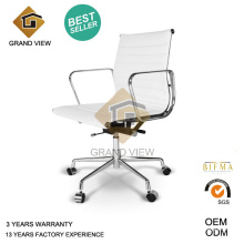White Leather Chinese Furniture Eames Chair (GV-EA117)