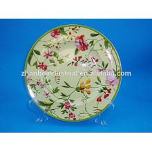 Articles de table en porcelaine Plaques décoratives florales