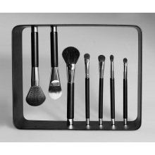 New Magnetic Stand up 7PCS Cosmetic Makeup Brush Set