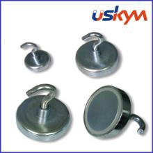 Permanent NdFeB Magnetic Hook (H-006)