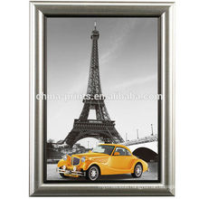 Paris Eiffel Tower With Frame Canvas Art Painting