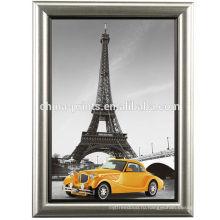 Париж Эйфелева башня с рамкой Картина холст искусство