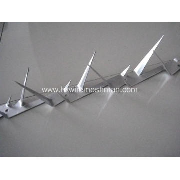 Security wall razor spikes