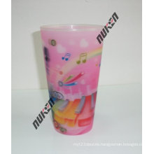 2015 New Product Pink Pet Plastic Cup