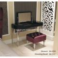 Mobília de quarto de madeira de estilo pós-moderno