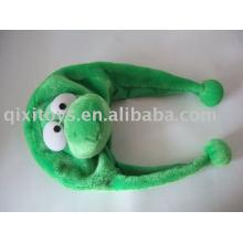 cartoon animal crocodile children plush hat
