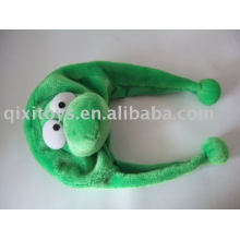 crocodilo de animais dos desenhos animados crianças chapéu de pelúcia