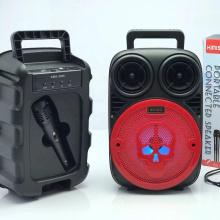 KMS-3395 Speaker Outdoor Portable Trolley Speaker DJ Speaker System Subwoofer Sound Box With LED Light