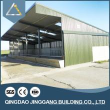 Construction en acier préfabriqué à longue portée