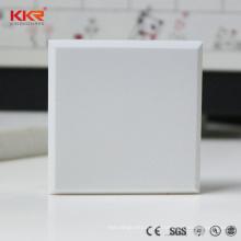 Feste künstliche Oberfläche des künstlichen Kunststeins, gefälschte Eisstein-feste Oberfläche für Wandverkleidung