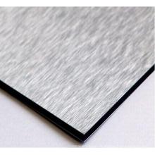 panel compuesto de aluminio ignífugo revestido PVDF de la calidad estupenda para el uso exterior