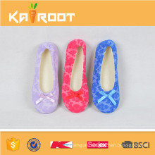 Elegant Ballet Ladies Dance Shoes with Bow