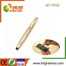 Factory Supply Bureau d'utilisation multifonctionnel Ecriture normale Smart Phone Stylus Stylet tactile Aluminium