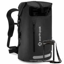 Custom Logo Brand High Quality Gym Sports Bag 500d Outdoor PVC Waterproof Dry Bag Backpack