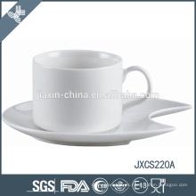 Taza y platillo de café de porcelana 100CC