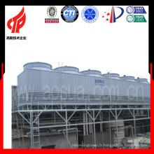1800T Hight Temp Counter-Flow FRP Rectangulaire Design spécial Système de traitement de l'eau de la tour de refroidissement