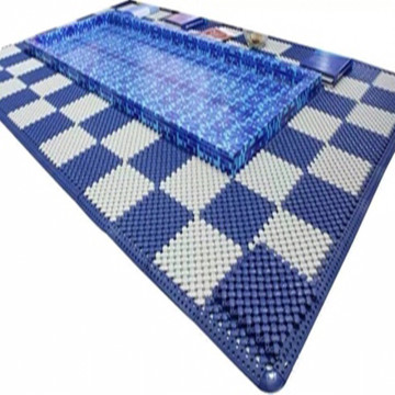 Kolam Renang Sauna Room Wet Area Mat