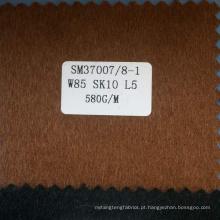 Tecidos de mistura de seda de lã de camelo de alto valor para homens casaco