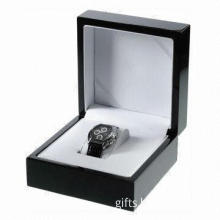 Black Cardboard Watch Gift Box, Any Size, Logos, Design and Die-cut Welcomed