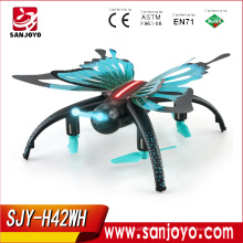 JJRC H42WH Butterfly-like Quadcopter With 0.3mp wifi Camera Altitude Hold Voice control Headless Mode PK H37 Mini SJY-H42WH