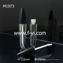 Barato tubo plástico transparente Lipgloss tubo contêineres com escova