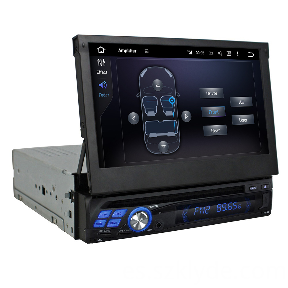 7 inch single din universal car dvd player