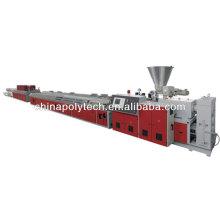 Madera plástico compuesto perfil Extrusión Line(plastic extrusion machine)