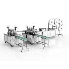 Nueva producción de mascarilla quirúrgica que hace la máquina