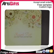 Manufactory produce gifts custom printed paper fridge magnet