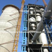 Elevador de cucharón de alta eficiencia tipo Gtd y Gth con cinta transportadora de cable de acero como la tracción