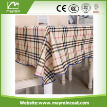 Color Square Table Cover 100% manteles de PVC