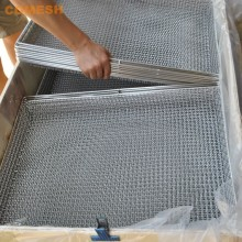 Stainless steel Crimped Wire Mesh tray for drying