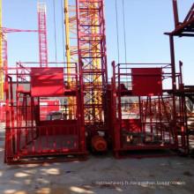 Grue de construction d'ascenseur de construction de Ss100 / 100 pour des marchandises