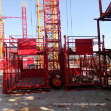 Ss100/100 Construction Elevator Building Hoist for Goods