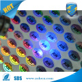 Adhesive UV ink printed anti-fake hologram label sticker