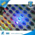 Etiqueta de etiqueta de adesivo de holograma anti-falsa impressa com tinta UV