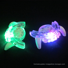 LED lighted mouth guard flashing tooth