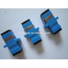 Perte d'insertion réduite SC / UPC monomode simplex adaptateur fibre optique